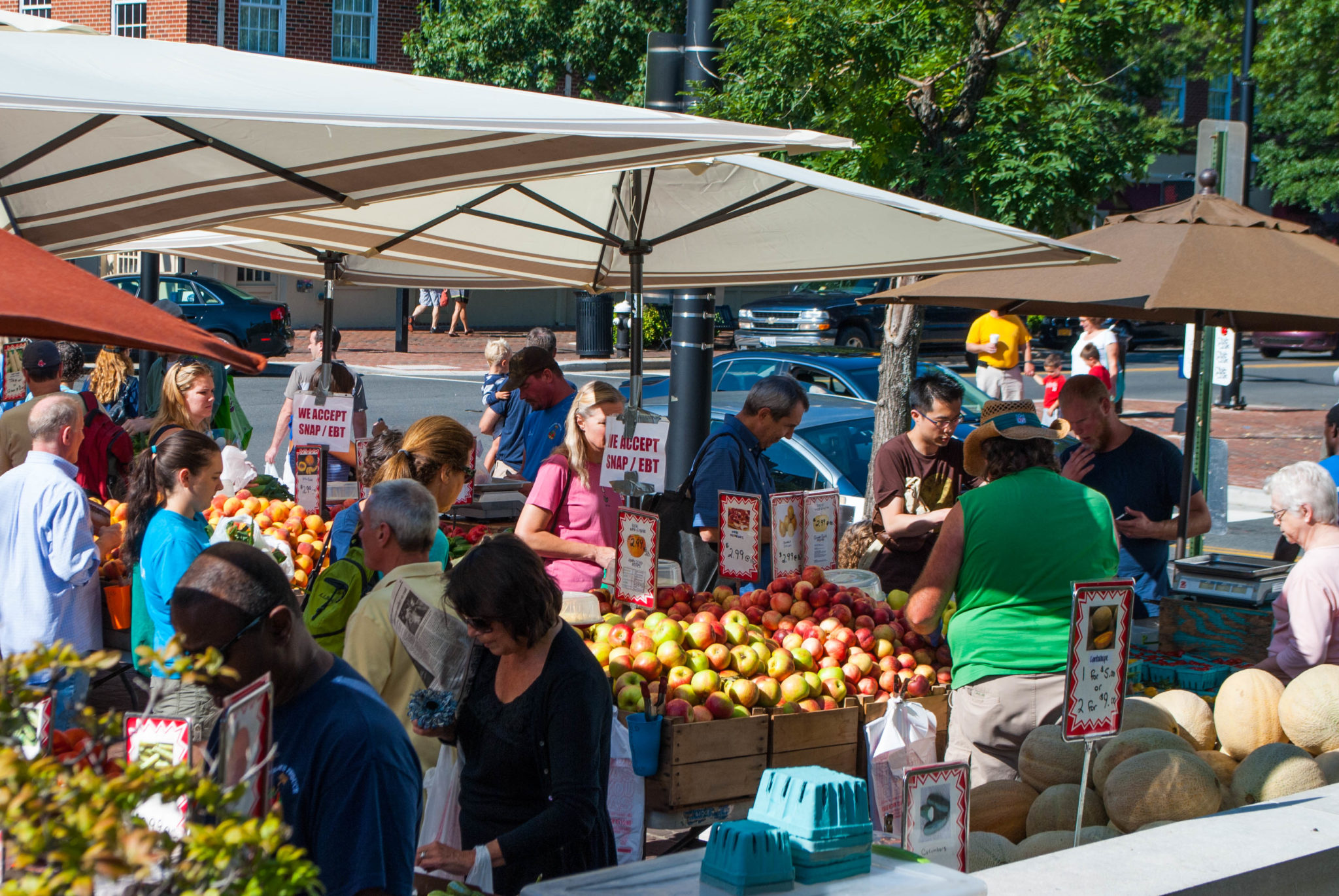 Old Town Farmers Market, Alexandria, Virginia