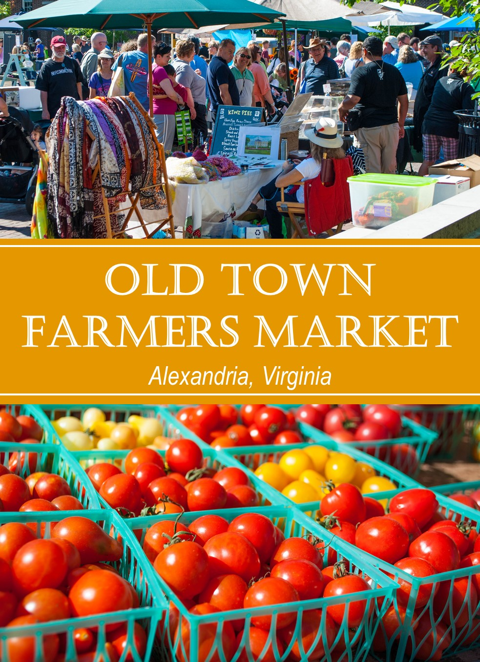 The Old Town Farmers Market in Alexandria, Virginia, is the oldest continuously-running farmers market in the country. Just ask George Washington!