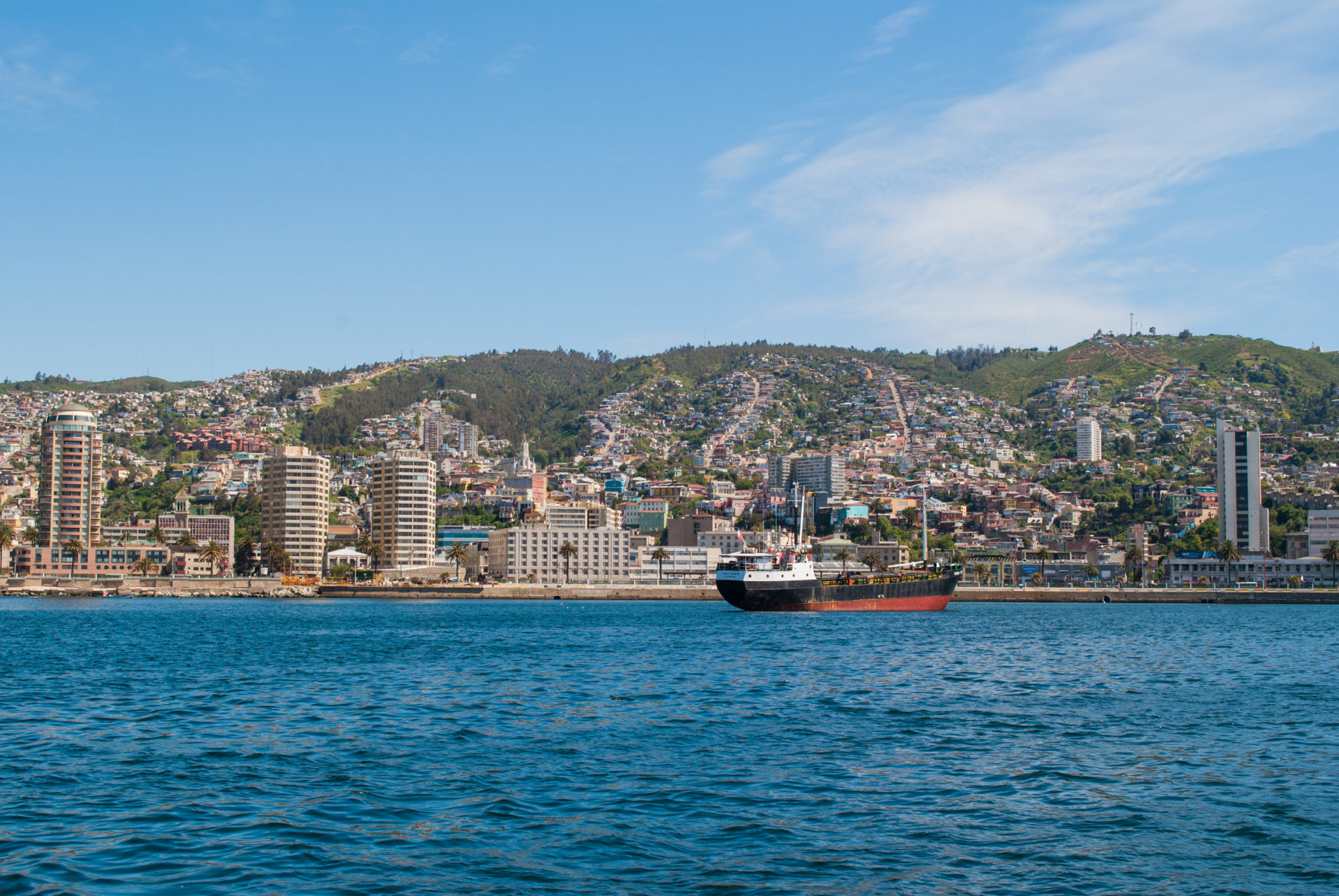 Harbor Tour of Valparaiso, Chile