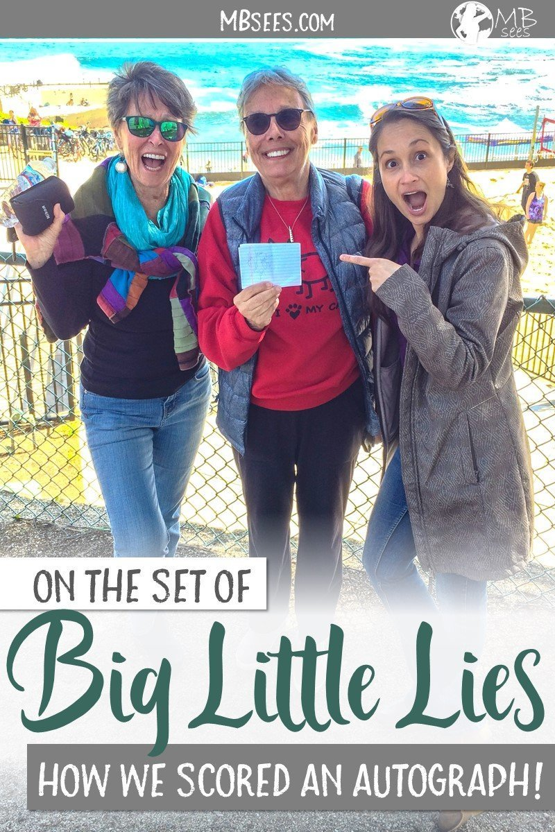 When your town suddenly becomes a Big Little Lies filming location, what do you do? Stalk all the HBO celebrities, of course! Here's a fun anecdote of how it went down recently at Lovers Point Park, in the town of Pacific Grove in Monterey County! Big Little Lies | Hollywood | Meryl Streep | Reese Witherspoon | Nicole Kidman | stalking celebrities | #BigLittleLies #Hollywood #MerylStreep #ReeseWitherspoon #NicoleKidman #stalkingcelebrities