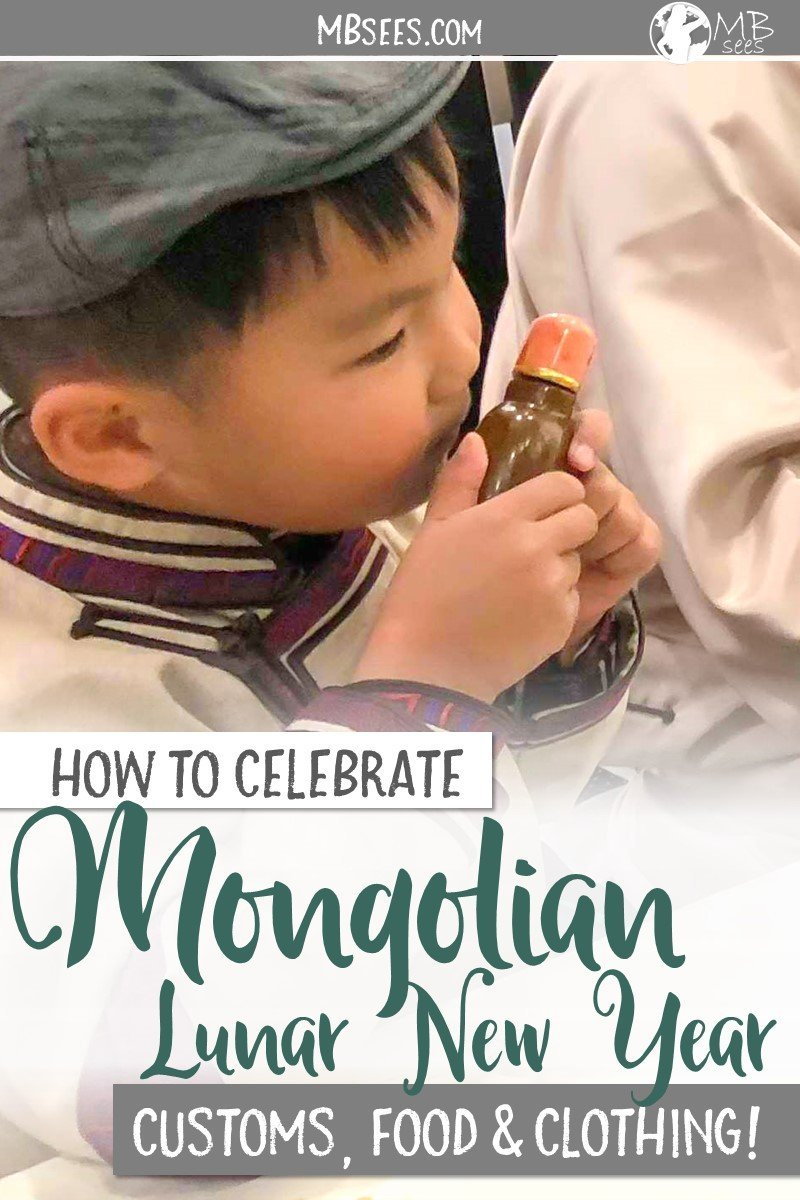Tsagaan Sar, or Mongolian Lunar New Year, is a family-filled, food-filled, tradition-filled holiday. Check out how they celebrate, what they wear, and the way they eat! Tsagaan Sar | Mongolian Lunar New Year | Lunar New Year | Mongolian Traditions #TsagaanSar #MongolianLunarNewYear #LunarNewYear #MongolianTraditions