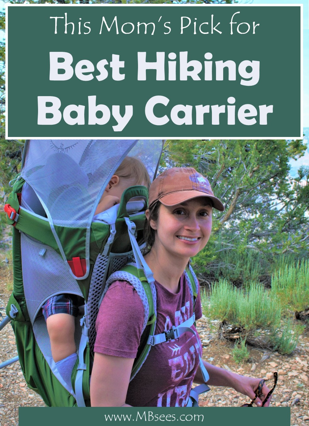 Adventure doesn't have to end when you have a baby, you just need the best travel gear for kids! Check out our review of the best baby carrier for hiking with kids, and outdoor travel with kids. Pin it for later and get the best baby hiking carrier! #HikingBabyCarrier #BabyHikingCarrier #BabyHikingBackpack #travelwithkids #travelgear | Hiking Baby Carrier | Baby Hiking Backpack