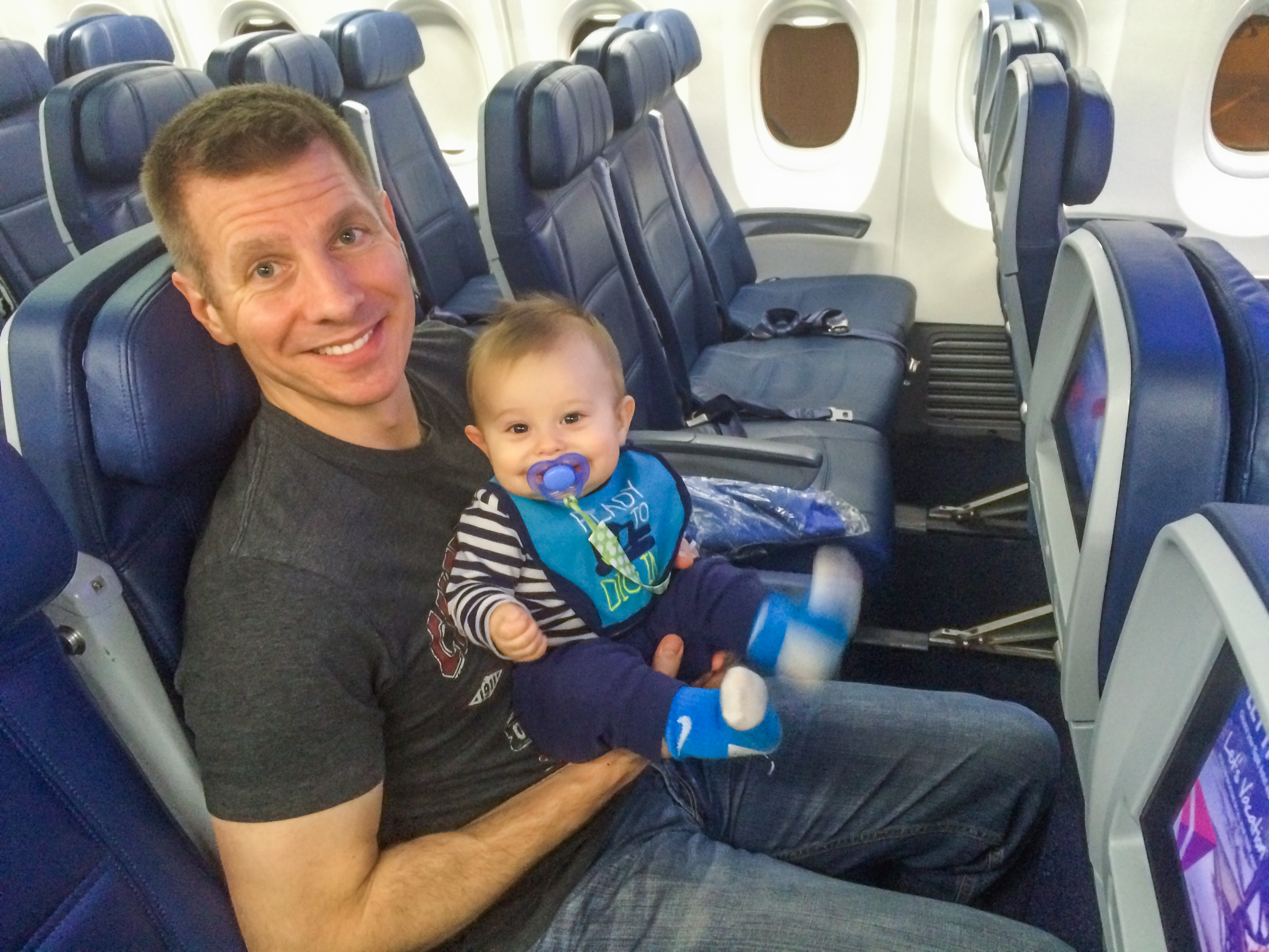 Travel Gear and Tips to Survive Baby's First Flight (Even When it's a Disaster!)